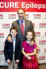 David Axelrod with Vogelstein twins