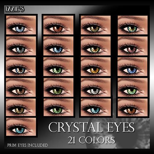Izzie's Crystal Eyes