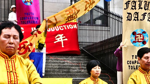 Falun Gong in Vancouver