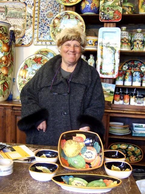 Chiara Giacomoni in Orvieto