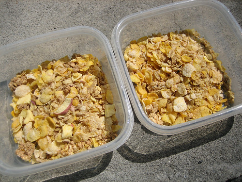 Limited Edition Honey Bunches of Oats with Banana Bunches and with Real Apples and Cinnamon Bunches Naked