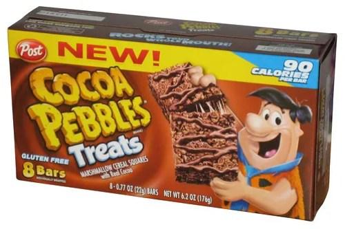 Post Cocoa Pebbles Treats