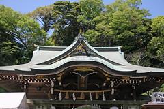 江の島めぐり―辺津宮(Hetsumiya shrine, Enoshima, 2011)