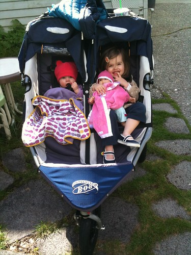 double stroller!