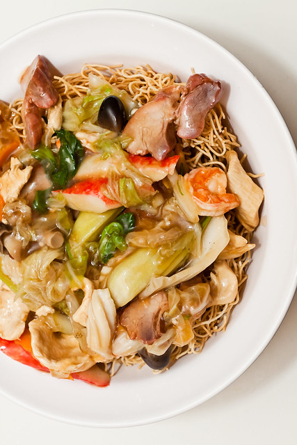 Chinese pan-fried noodles