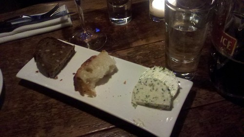 awesome bread and herb butter