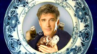 Craig Ferguson and his ferrets