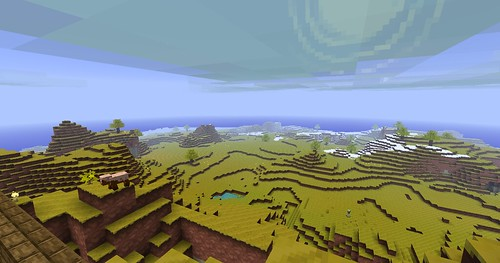 Minecraft - View From The Island