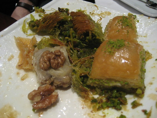 Baklava at Gulluoglu Cafe