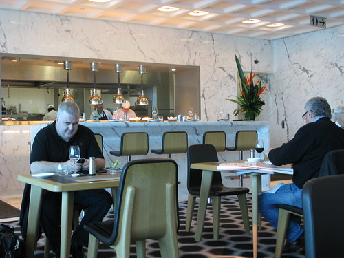 Qantas First Class Lounge - Melbourne