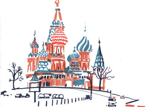 Moskau tarte