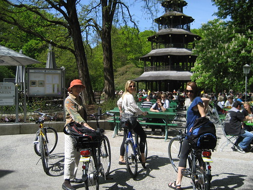 Bike ride in Munich