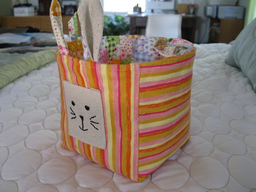 Easter Bunny Basket for Her