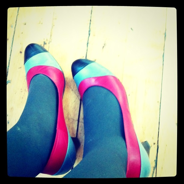 And today I love my Ellips #shoes from #France!