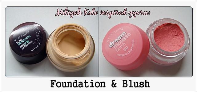 Miliyah insp. Gyaru makeup---products