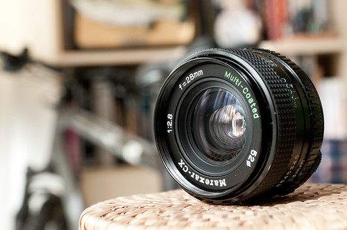 Marexar 28mm f/2.8 (para hacer macro mediante inversión)