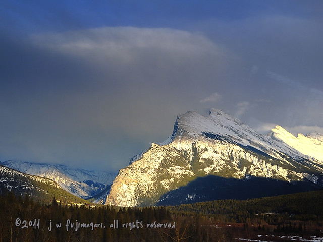 Afternoon Light On Rundle