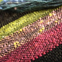 Weaving the Scrappy Yarn