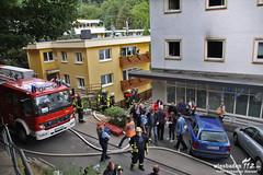 Verpuffung & Wohnungsbrand Schlangenbad 11.06.11