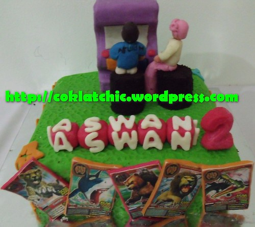 Cake Animal Kaiser ASWAN Jual Kue Ulang Tahun