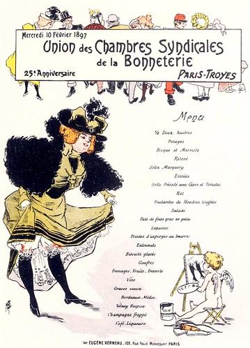 Menu by Misti, 1897