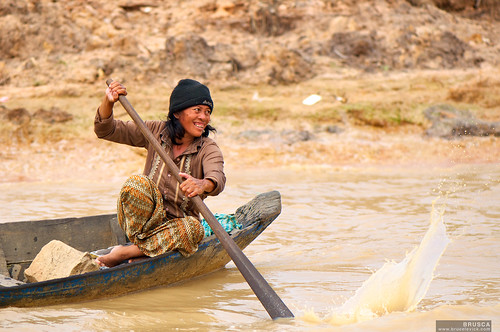 Fishing in Cambodia