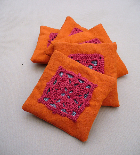 Orange Lavender Bags 01