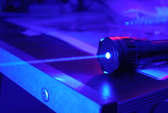 1.2W Class 4 Very High Power Blue Laser, Dark ...