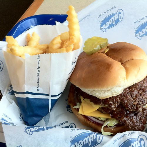 Double Butter Burger @ Culver's of Rosemont, IL