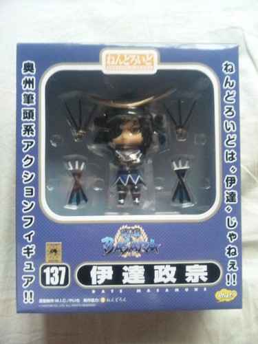 Box of Nendoroid Masamune Date