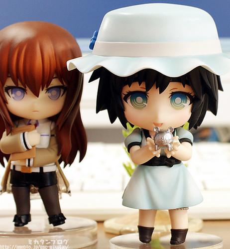 Nendoroid Shiina Mayuri and Makise Kurisu (rear)
