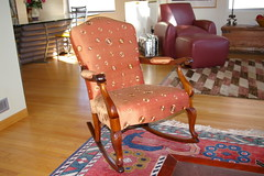 Arm chair rocker