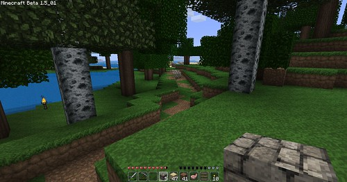 Minecraft - Nearly Finished Road