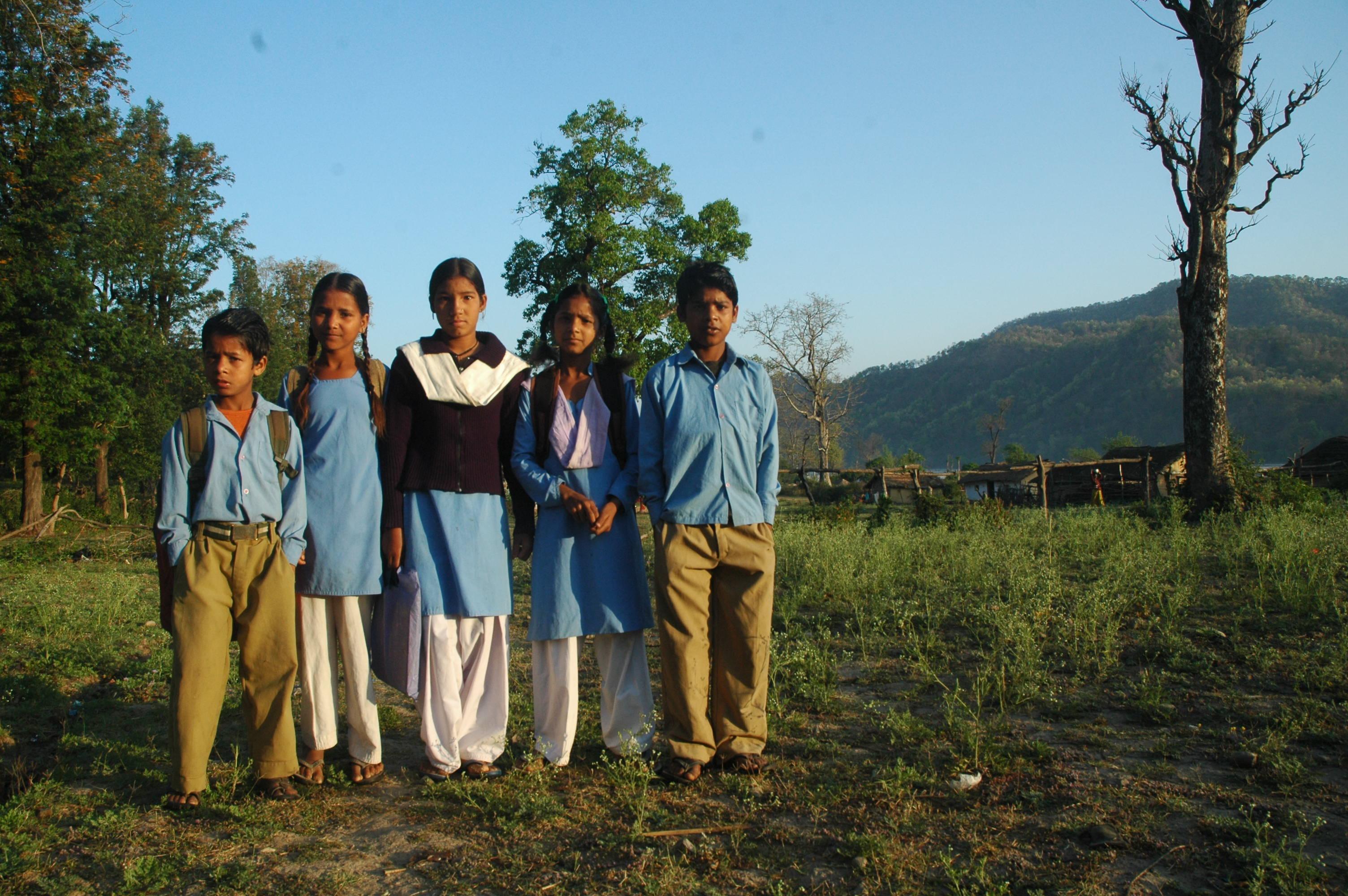 TAME ONES,Jim Corbett wild life sanctuary, Uttarakhand, India