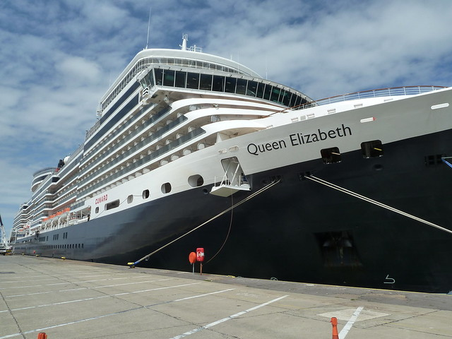 Cunard Queen Elizabeth Ship. Newest Cruise Ship In The Fleet Review