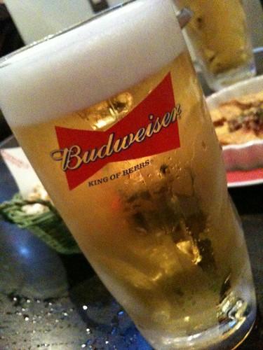 大ジョッキ。飲みやすい〜。