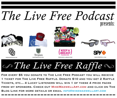 The Live Free Raffle