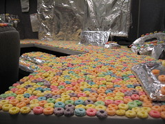 A sea of fruit loops