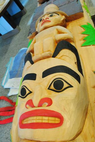 Haida Totem Representation