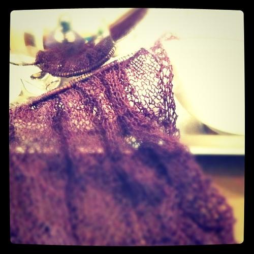 Cafe knitting 1