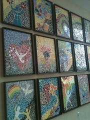 Simon Cancer Center Mosaics