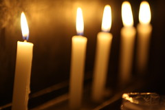 """....""""Each Small Candle"""""""
