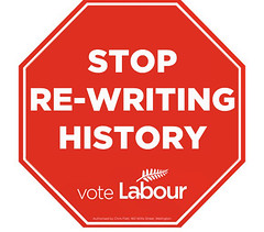 Labour: Stop re-writing history