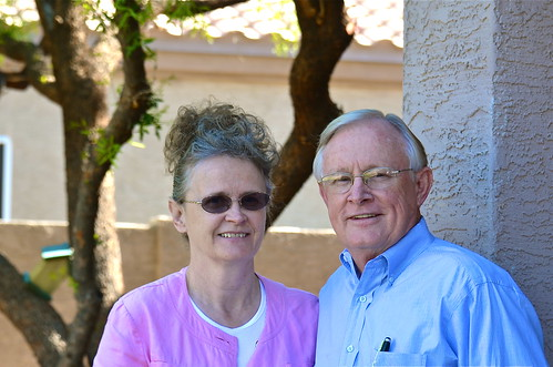 Gary and Elaine Hogan by Shirley Buxton