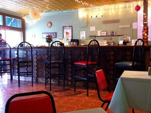 Inside Imagine Vegan Cafe, Memphis, Tenn.