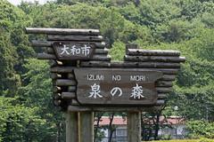 泉の森―銘板(Nameboard, Izuminomori park, Yamato, Kanagawa, Japan)