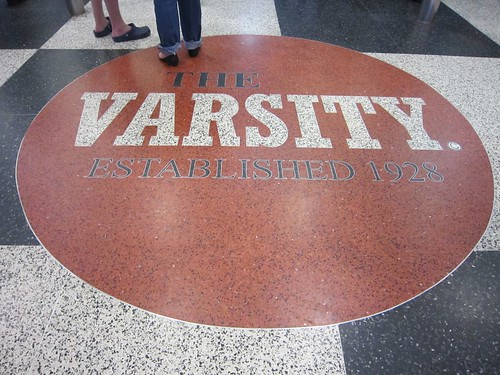 The Varsity Drive In Terazzo Floor