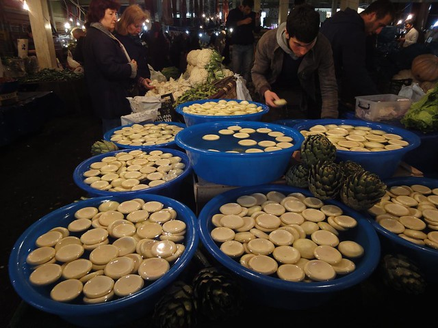 Mercado semanal de Sábado em Muradiye