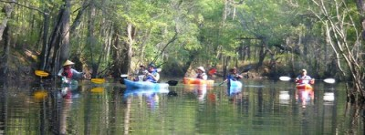LCU on Ebenezer Creek
