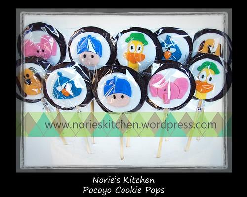 Norie's Kitchen - Pocoyo Cookie Pops